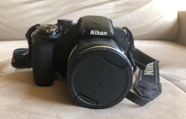 Nikon coolpix p600 - semi-nova