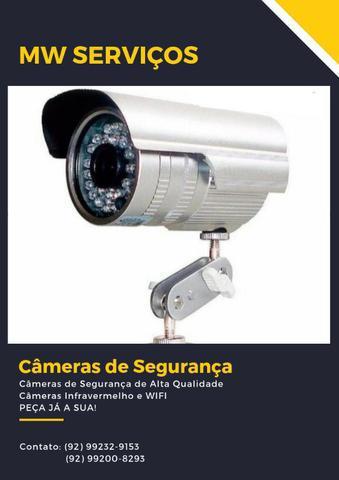 Oferta especial! câmeras de segurança na promoção! menor