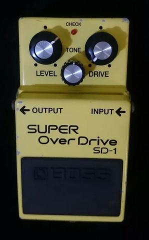 Pedal super over drive sd-1 boss (usado)