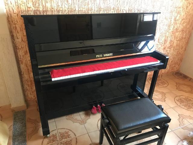 Piano fritz dobert bem conservado