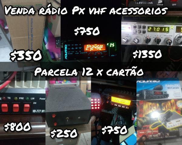 Rádio amador px acessórios