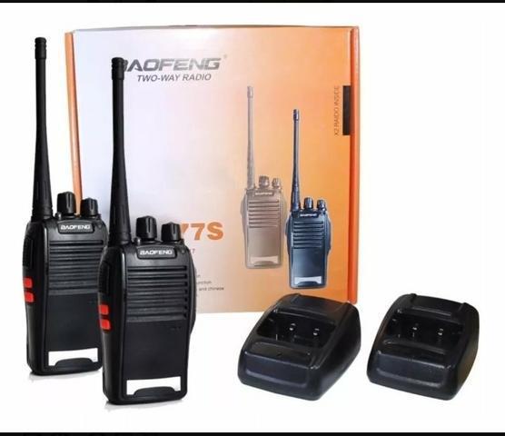 Rádios comunicadores baofeng 777s