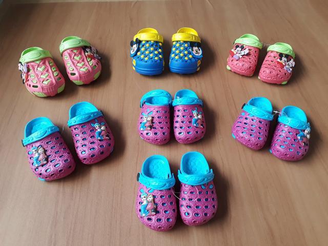 Sandália crocs infantil - aceito cartão