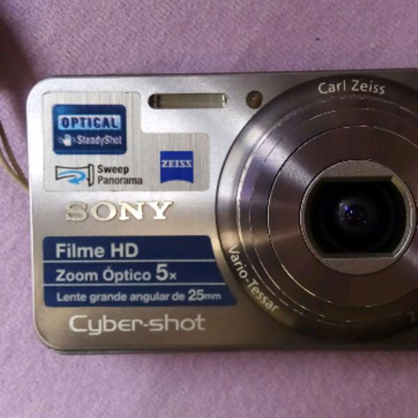 Sony cyber shot, semiprofissional com foto panorâmica