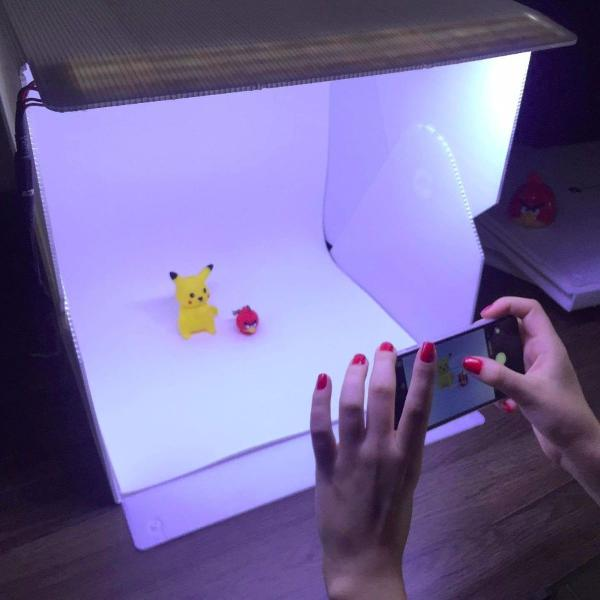 Studio box photo box studio iluminação de led