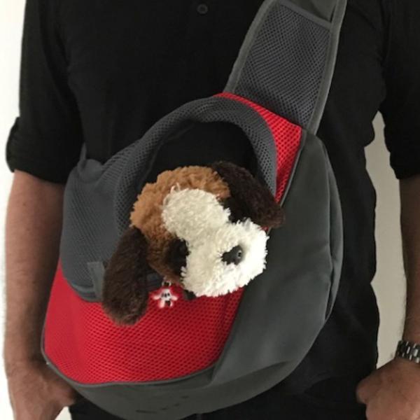 Bolsa sling transporte pets