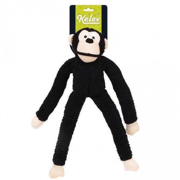 Brinquedo jambo macaco pelúcia preto
