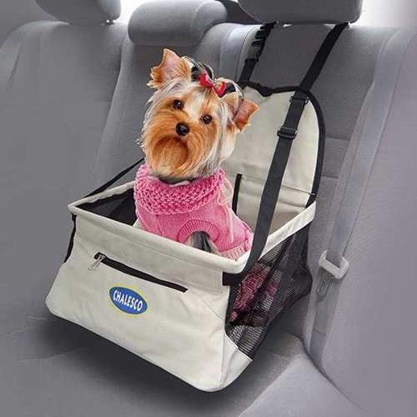 Cadeirinha de transporte para cachorro e gato assento para