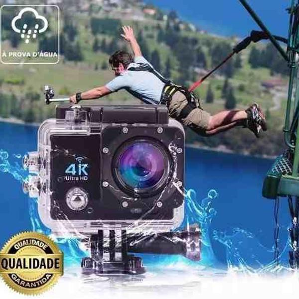 Camera 4k sportiva + acessórios