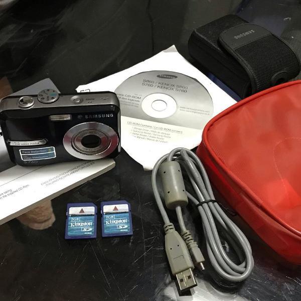 Camera digital samsung s760