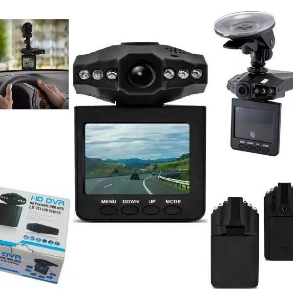 Camera filmadora visão noturna dvr lcd 2.5 carro hd