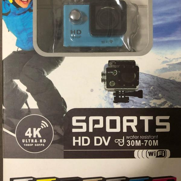 Camera sports had dv