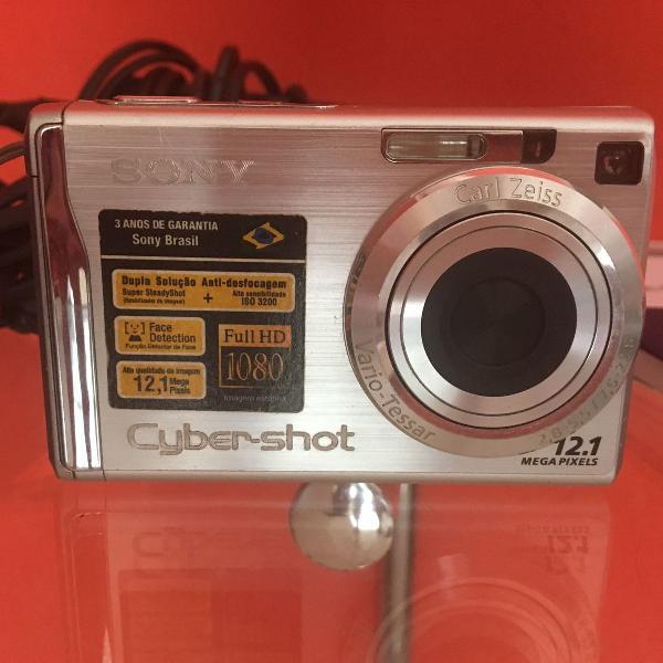 Camêra fotográfica sony cyber shot dsc w200 12.1