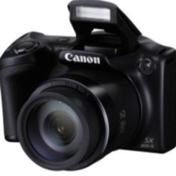 Canon power shot sx 400 is digital com cartão de memória