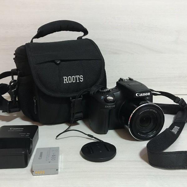Canon powershot sx50hs + case