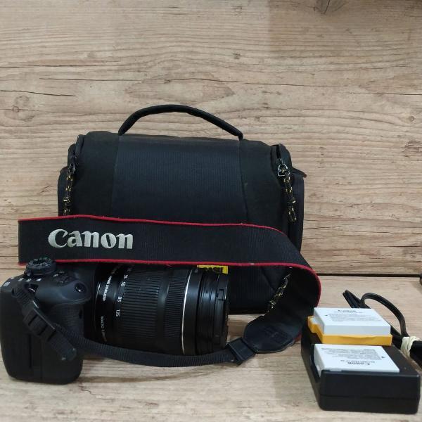 Canon t5i + kit completo estado perfeito