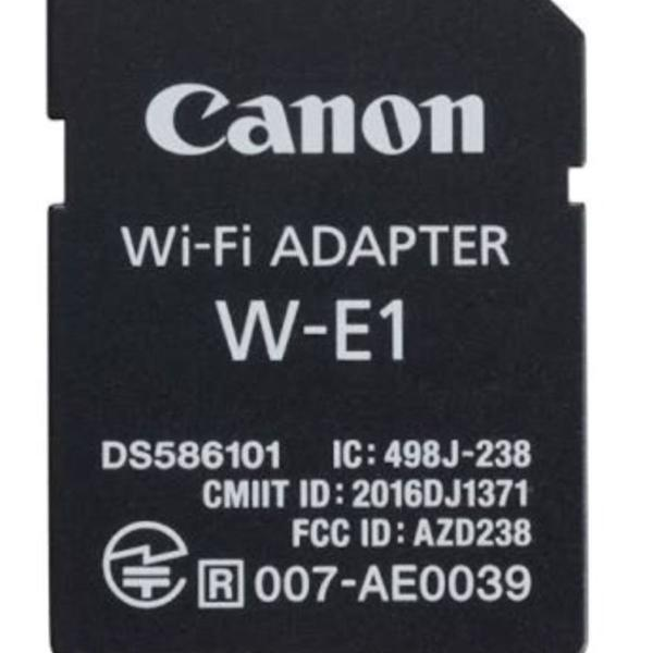 Canon wi fi adaptador w-e1