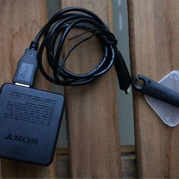 carregador máquina sony cyber shot