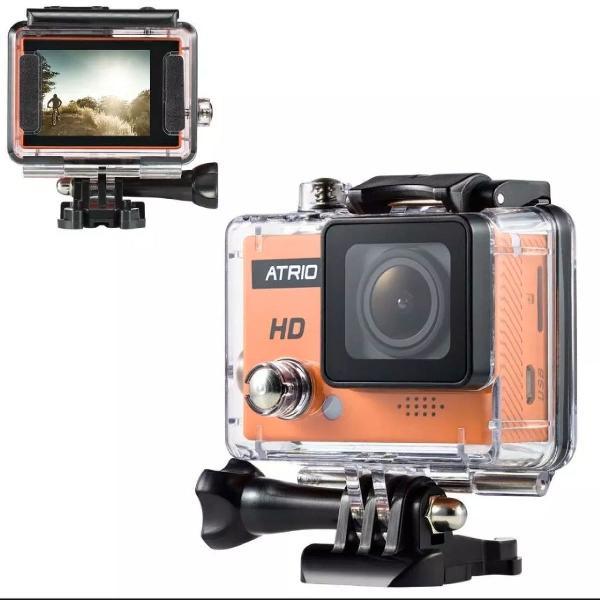 Câmera ação full hd sport 720p atrio