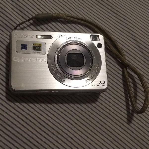 Câmera cyber shot w120