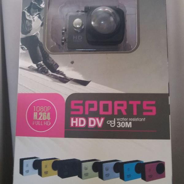Câmera de ação sports cam 12 mp
