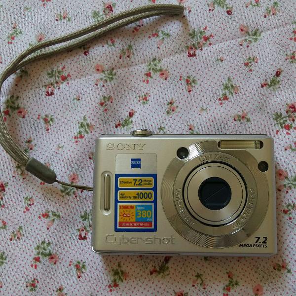 Câmera digital sony dsc w35 -vulgo kiki