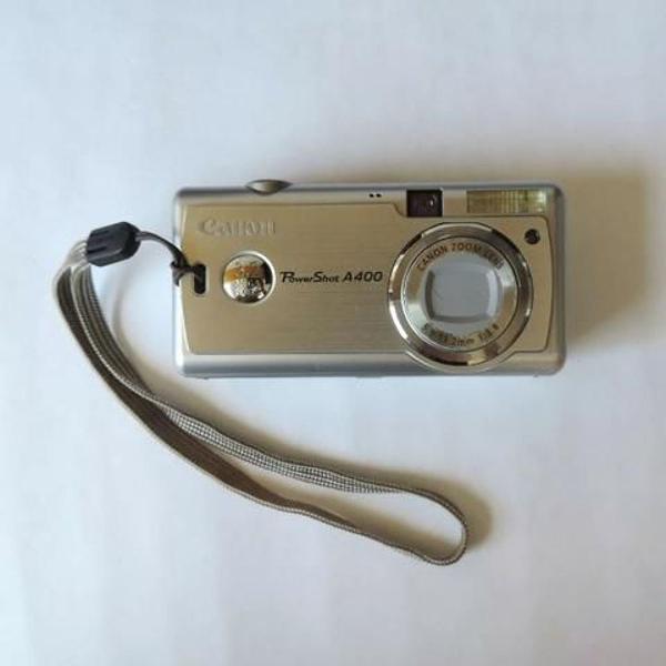 Câmera digital canon power shot a400