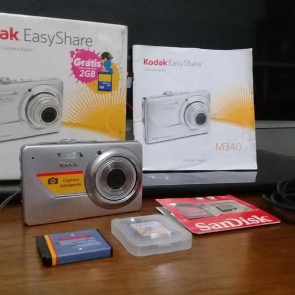 Câmera digital kodak easyshare m340 10.2 mp ( impecável)