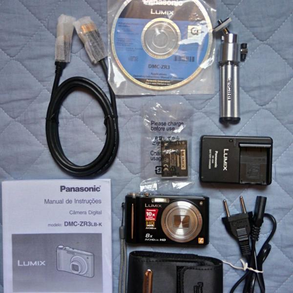 Câmera digital lumix (panasonic)