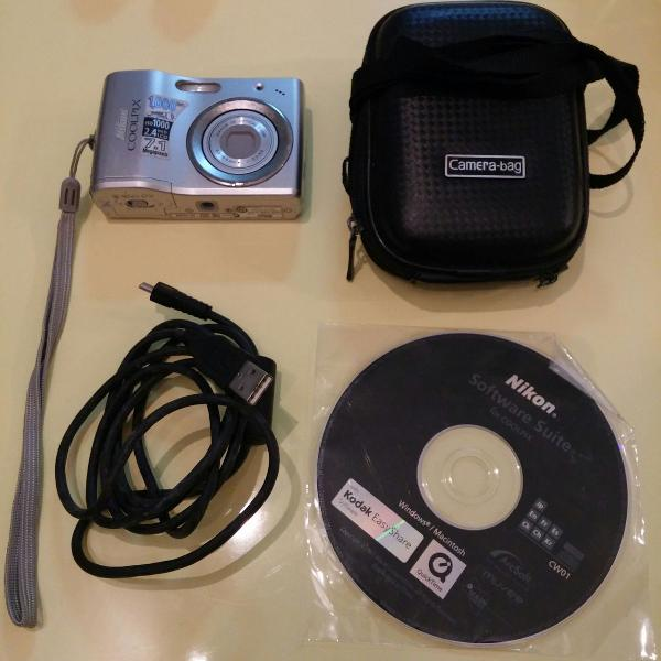 Câmera digital nikon coolpix l-14