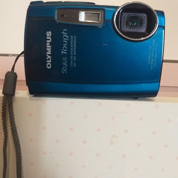 Câmera digital à prova d'água