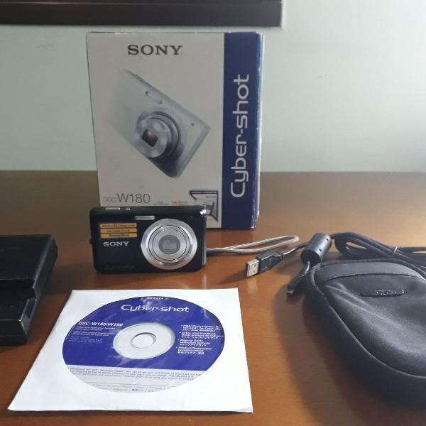 Câmera digital sony cyber-shot dsc w180