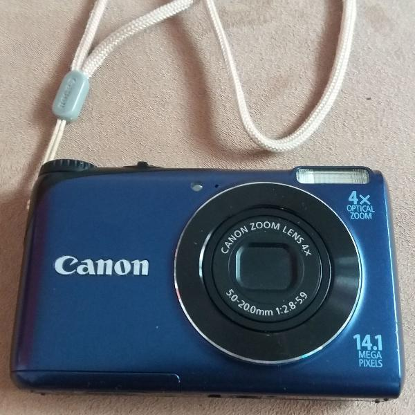 Câmera fotográfica digital canon