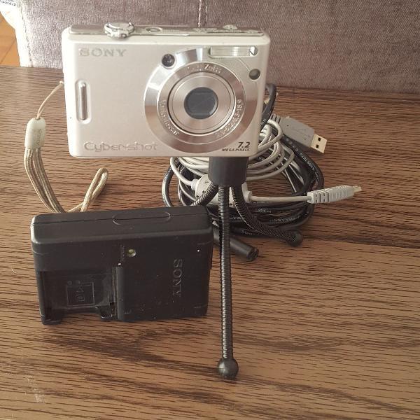 Câmera fotográfica digital cyber shot