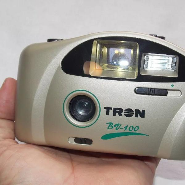 Câmera máquina fotográfica antiga tron bv 100