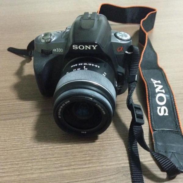 Câmera profissional sony alpha a330