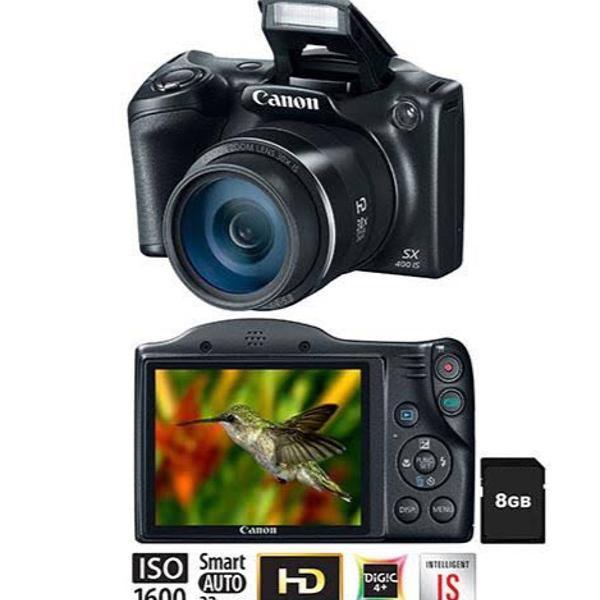 Câmera semi professional canon