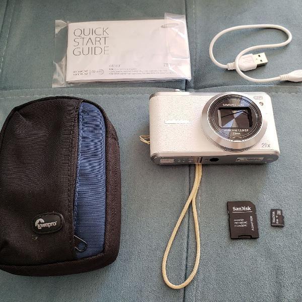 Câmera semi profissional samsung wb380f
