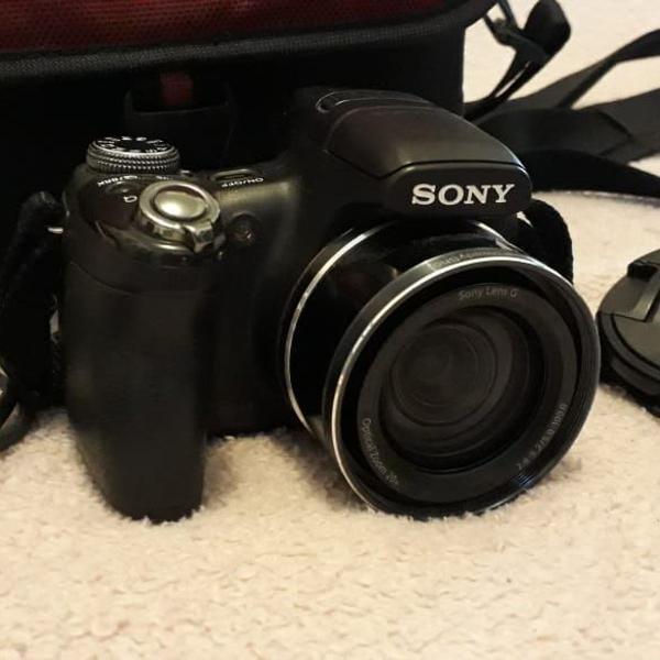 câmera sony cyber shot dsc hx1