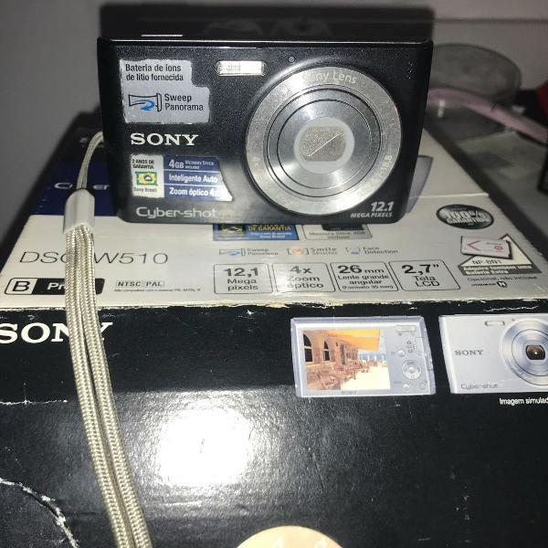 Câmera sony cyber shot dsc-w510