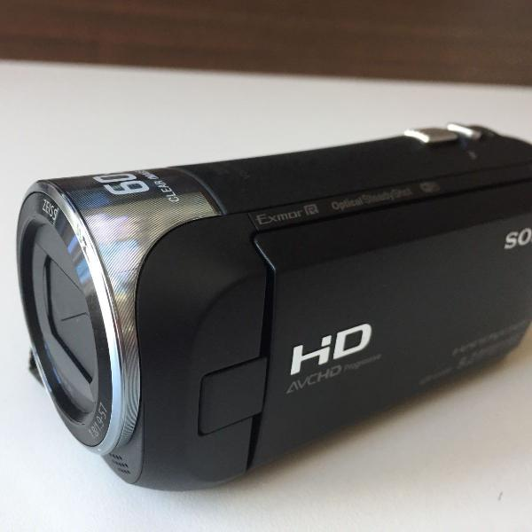 Câmera sony handcam cx-440