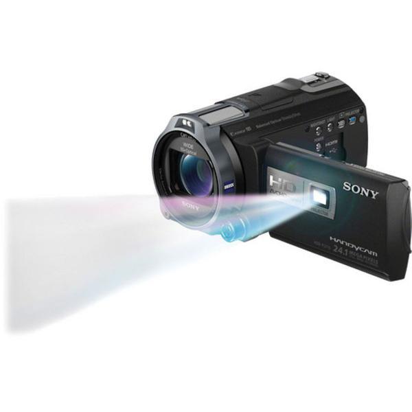 Câmera sony handycam alta definição hdr-pj760v com