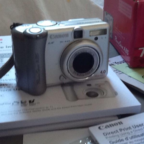 Cânon máquina fotográfica