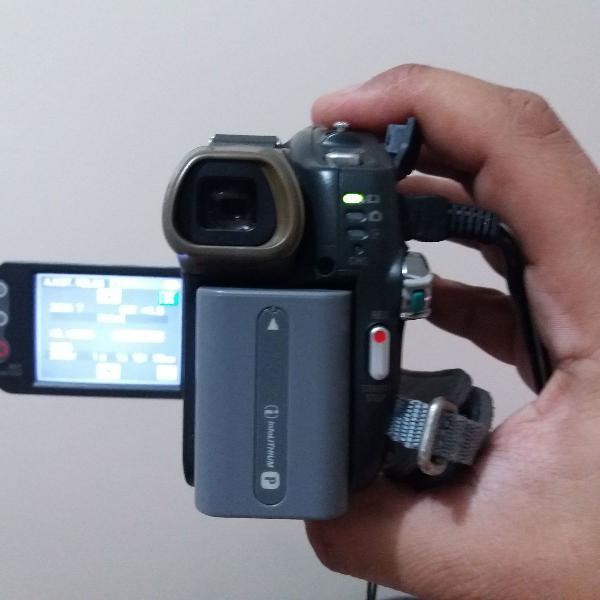 Filmadora sony handycam 20x