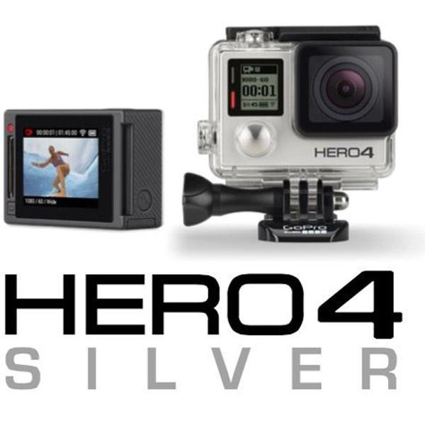 Gopro hero4 silver camera go pro 4 tela lcd+64gb