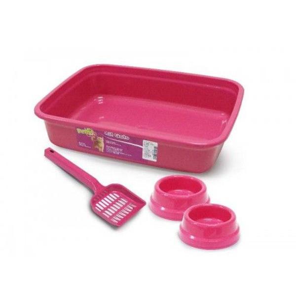 Kit sanitário gato tradicional 4 peças