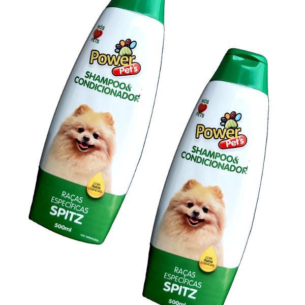 Kit shampoo power pets raças específicas (spitz) 2