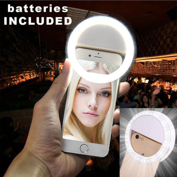 Luz selfie led flash light