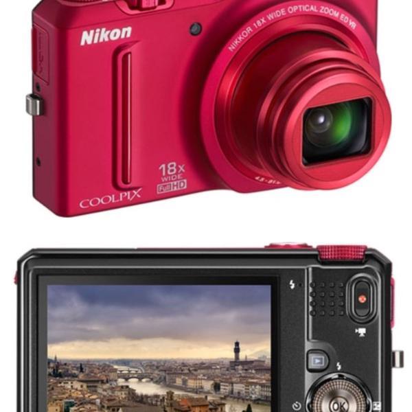 Maquina fotográfica nikon coolpix s 9100