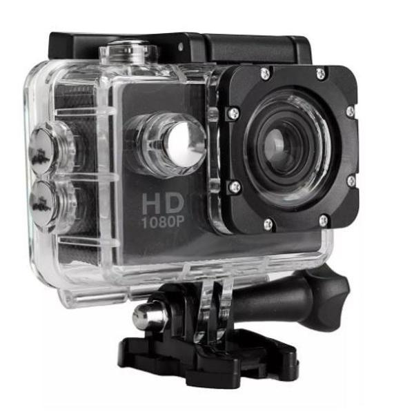 mini câmera filmadora sports hd 1080p aprov d'agua moto